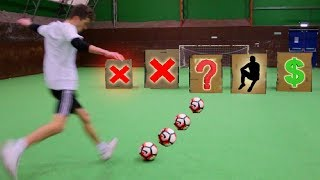 Don't Kick the Football at the Wrong Box - Challenge!