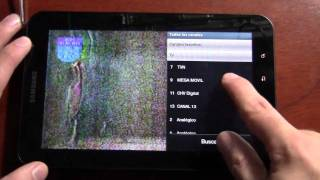 Sintonizador de TV Digital - Samsung Galaxy Tab