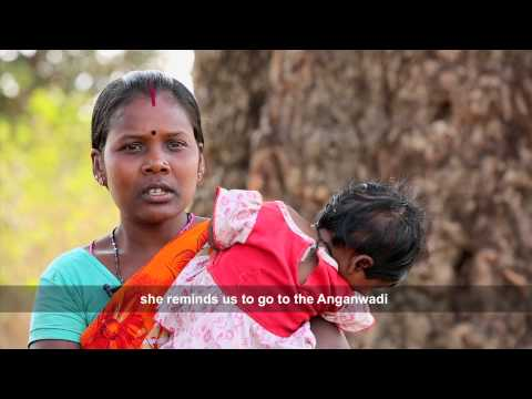 Accredited Social Health Activist, Asrita from Jharkhand working amongst Primitive Tribal Groups