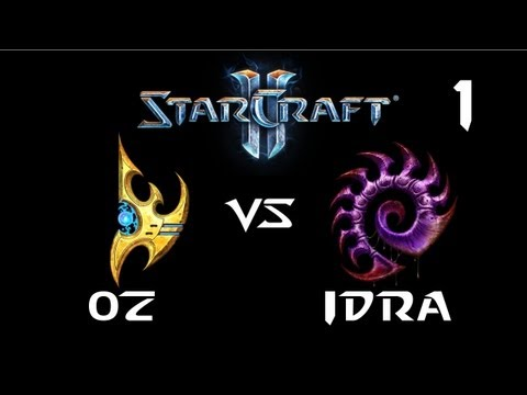 StarCraft 2 - Oz [P] vs IdrA [Z] G1 (Commentary)
