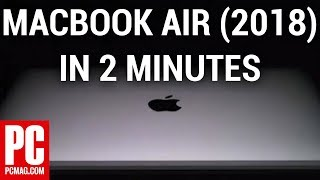 MacBook Air (2018) in 2 Minutes