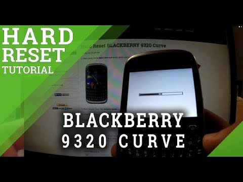 Hard Reset BLACKBERRY 9320 Curve - factory reset tutorial