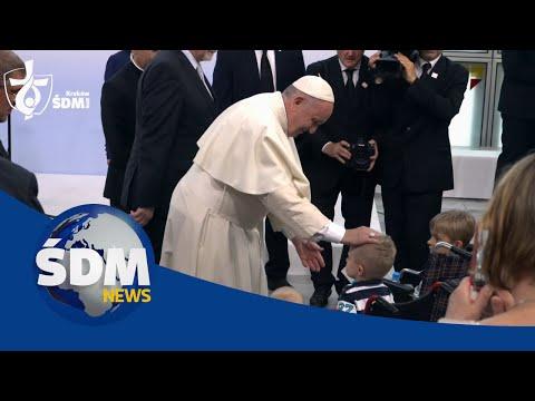 [ŚDM News] Papież Franciszek W Uniwersyteckim Szpitalu Dziecięcym W Krakowie H 264
