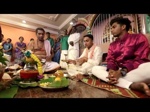 Malaysian Indian Wedding Ceremeony of Prem Anand & Pavithra Varathan