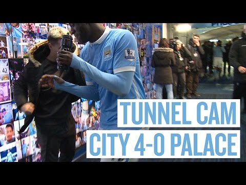 YAYA PUNKS NASRI! | Tunnel Cam | City 4-0 Palace