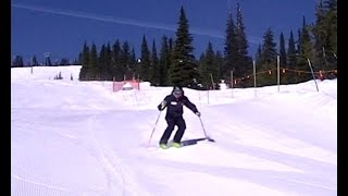 Boot skiing - Big White Ski Resort 2015