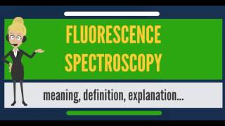 What is FLUORESCENCE SPECTROSCOPY? What does FLUORESCENCE SPECTROSCOPY mean?