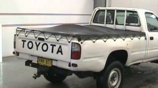 2001 Toyota Hilux RZN169R (4X4) White 5 Speed Manual 4x4 Cab Chassis
