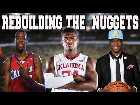 NBA 2K16 MY LEAGUE: REBUILDING THE DENVER NUGGETS - AMAZING GUARDS? BIG TRADES?