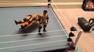 WWE RKO through a table reversal!