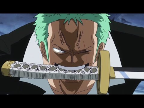 One Piece Episode 670 ワンピース Review - Zoro VS Pica & Sabo's Dragon Claw