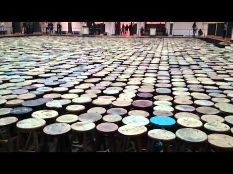 Ai Weiwei 'Stools' 2014