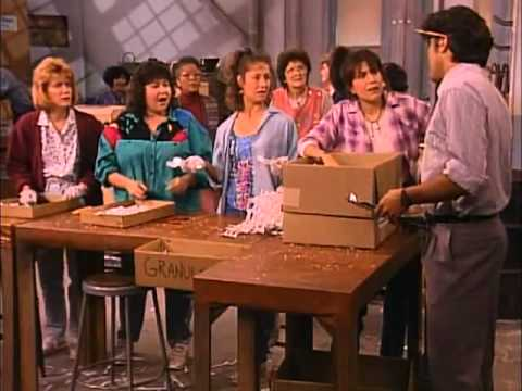 Georges Clooney   Roseanne Workin' Overtime Part 1   YouTube