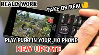 #JioPhone     #pubgmobile PLAY PUBG | ON YOUR JIO PHONE | NOT FAKE | 100% WORK