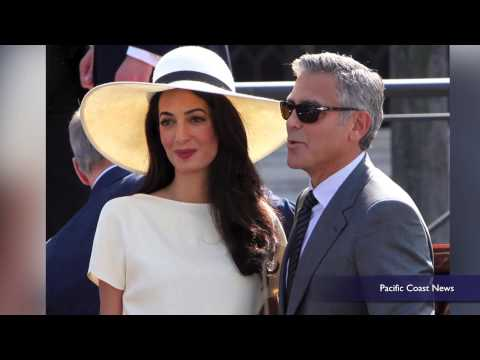 George Clooney reveals how he proposed to wife Amal
