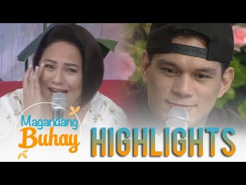 Magandang Buhay: Momshie Karla tears up with Zeus' message for his mother