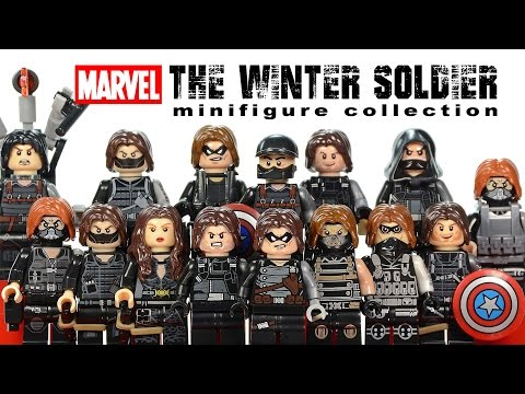 Awesome Winter Soldier Minifigure Collection LEGO® Marvel Super Heroes