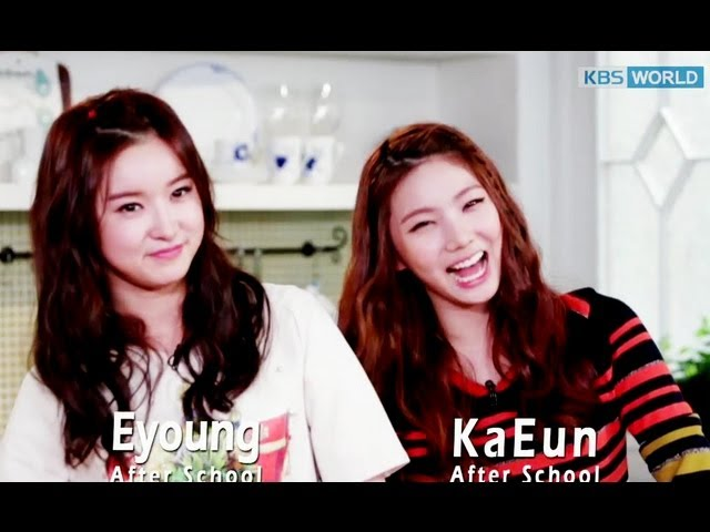 [Easy Korean Cooking] 'Steamed Eggs' by Eyoung & Kaeun of 'AfterSchool'