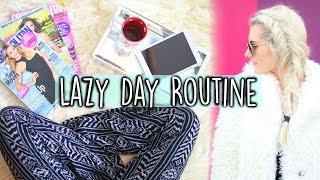 Lazy Day Routine! + No Heat Hair & Outfit Ideas! | Aspyn Ovard