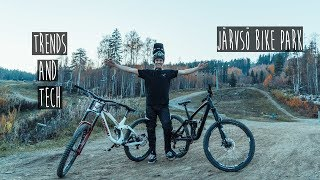 TRENDY DH LAPS AND TECHNICAL ENDURO TRICKS