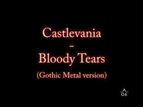 Castlevania - Bloody Tears (gothic Metal Version) video