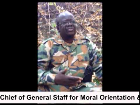 Maj  Gen  Martin Speaking Directly to the People of South Sudan