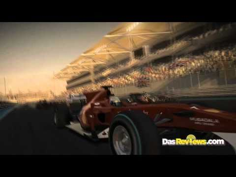 F1 2010: Singapore Nighttime Gameplay Trailer