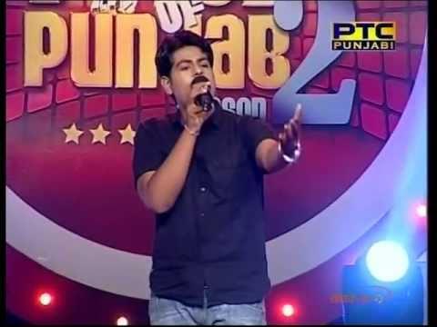 Karan Juneja singing Sohni Lagdi in Voice Of Punjab 2