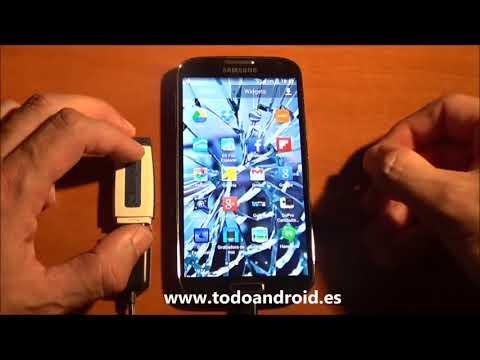 Tutorial Android, exportar contactos a tarjeta SD o USB