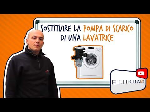 Come Sostituire la Pompa di Scarico Guasta di una Lavatrice