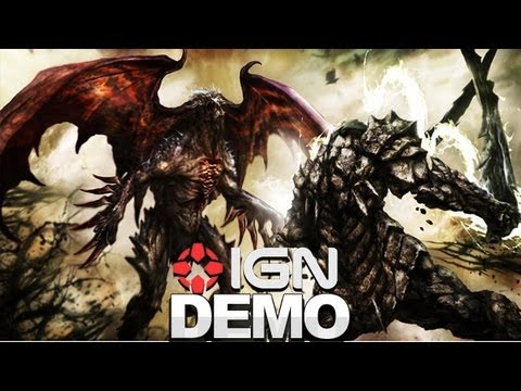 Soul Sacrifice Gameplay E3 2012 Demo - PS Vita - IGN Live