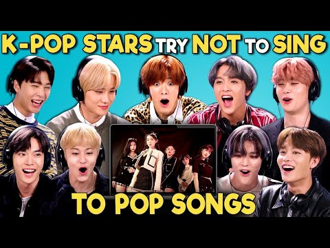 K-pop Stars React To Try Not To Sing Along Challenge (NCT 127 엔시티)