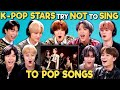 K-pop Stars React To Try Not To Sing Along Challenge (NCT ...