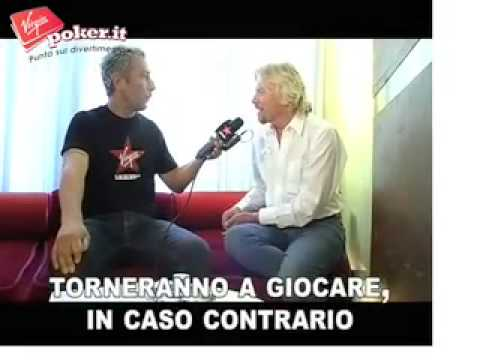 Richard Branson svela VirginPoker.it