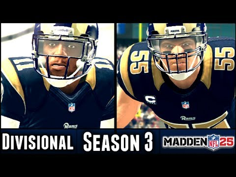 Madden 25 Rams Connected Franchise: Divisional Playoffs vs Falcons (Season 3)