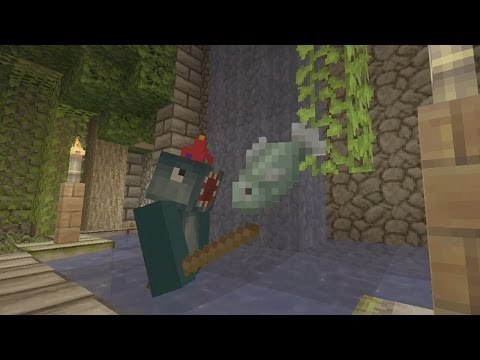 Minecraft Xbox Re Solitude Fishing Puzzles 3
