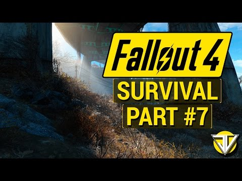 FALLOUT 4: SURVIVAL MODE Let's Play Part 7 - Clearing CORVEGA! (PC Gameplay Walkthrough)