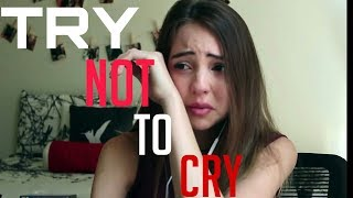 THE TRY NOT TO CRY challenge [ MEME REVIEW ] Ricardo Milos & Space Pant meme crying girl reaction