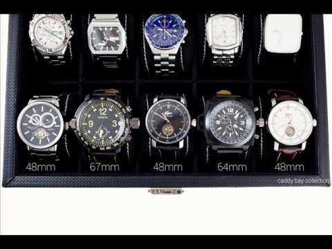 Display Watch Box Box Holds 10 Watches