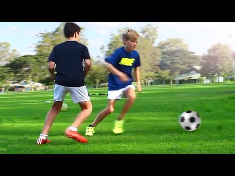 TOP 3 - Easy Football Skills for Kids & Beginner (Winger) - Tutorial