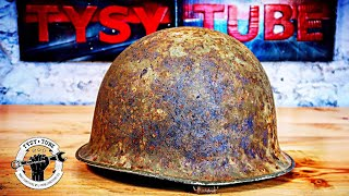 1957 Army Helmet Restoration