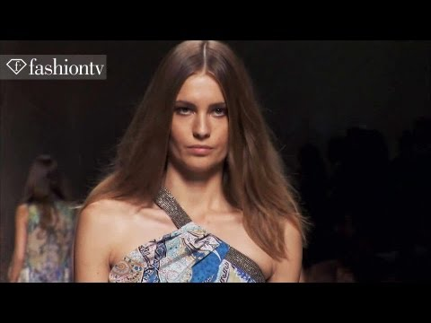 Etro Spring summer 2014 Full Show | Milan Fashion Week Mfw | Fashiontv video