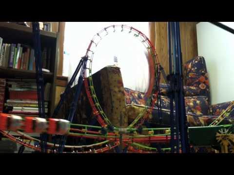 Titanoboa knex roller coaster