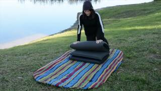 How to set up and pack up a self inflating mattress