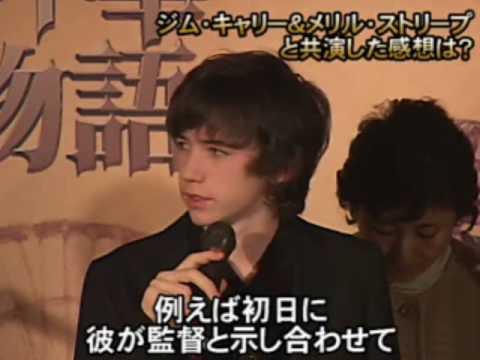 Lemony Snicket Tokyo Press Conference