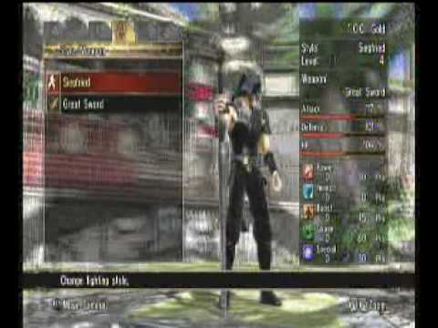 Soul Calibur 4 Character Creation