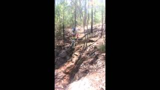 Knapsack Downhill Chute after Track Maintenance day