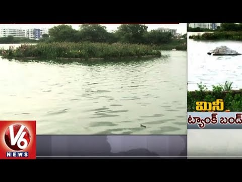 Floating Island And Mini Tank Bund Attract Visitors At Ibrahimbagh Lake In Hyderabad | V6 News