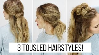 3 Tousled Hairstyles Inspired by NYFW!