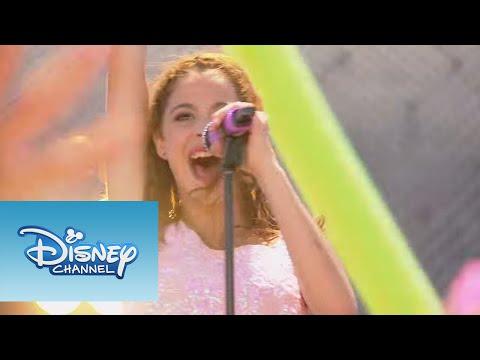 Mira más videos exclusivos de Violetta en http://www.disneylatino.com/disneychannel/series/violetta/ ¡Canta con nosotros! ¿Ahora, sabes qué? Yo no entiendo lo que pasa Sin embargo sé...